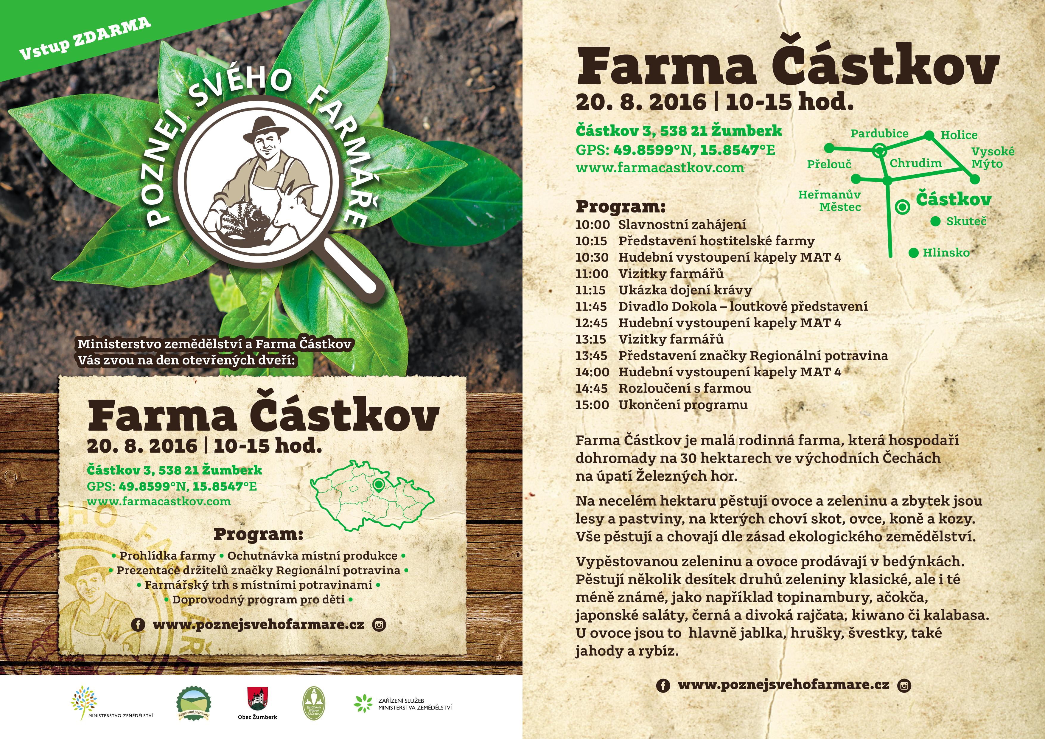 Pozvánka na rodinnou farmu